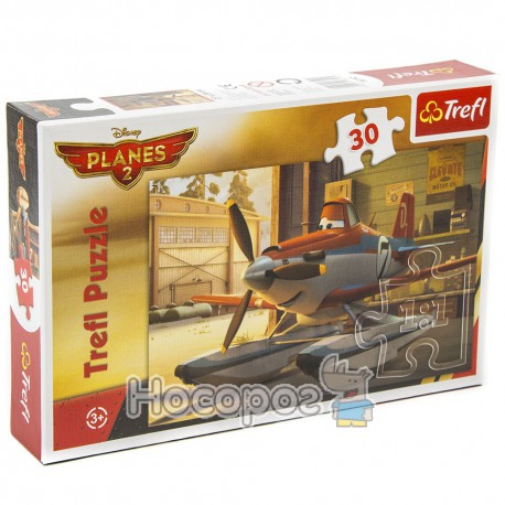 "Фото Пазл ""Пилюк в ангаре"" Disney Planes 2"