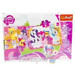 "Пазл Lumi Color ""Маленькие зверюшки"" Hasbro, My Little Pony"