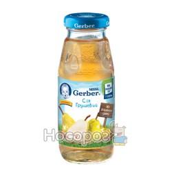 Сок Gerber Nestle WTC яблочный грушевый 12168035 175 мл
