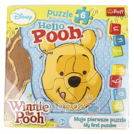 "Пазл Baby FUN ""Винни Пух"" Disney, Winnie the Pooh"