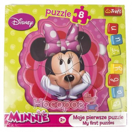 "Пазл Baby FUN ""Задумчивая Минни"" Disney, Мinnie"