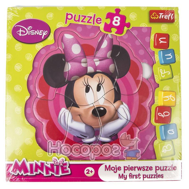 "Фото Пазл Baby FUN ""Задумчивая Минни"" Disney, Мinnie"