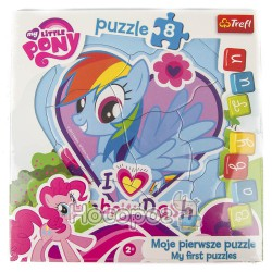 "Пазл Baby FUN ""Rainbow Dash"" Hasbro, My Little Pony"