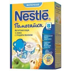 Каша молочная Nestle WTC 3 злака с грушей и яблоком 12267063