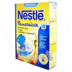 Каша молочная Nestle WTC 3 злака с бананом и клубникой 12267065