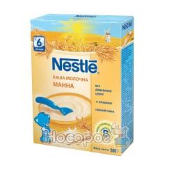 Каша молочная Nestle WTC манная 12283551