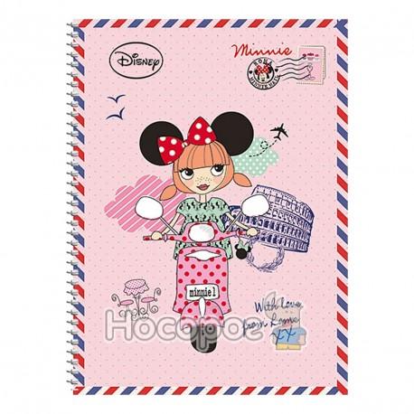 Фото Зошит Школярик А5/96 УФ лак вибірковий картон палітурний Disney Student (3/72)