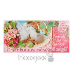 Конверт для грошей Мандарин КПУ13