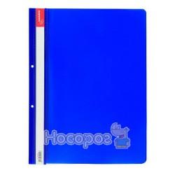 Скоросшиватель пластиковый JOBMAX, А4, синий