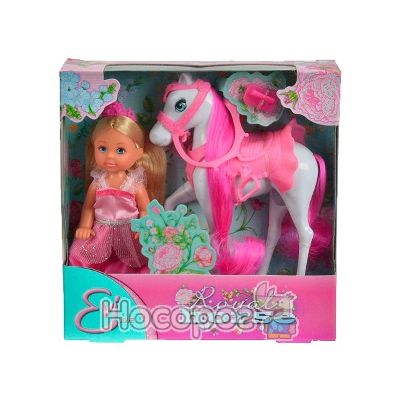 """Фото Кукольный набор Steffi & Evi Love Эви """"Принцесса и королевски йконь"""""""