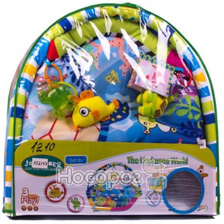 Коврик для малюка 1210 (5 іграшок, в сумці, 72*72*50 см) (6)