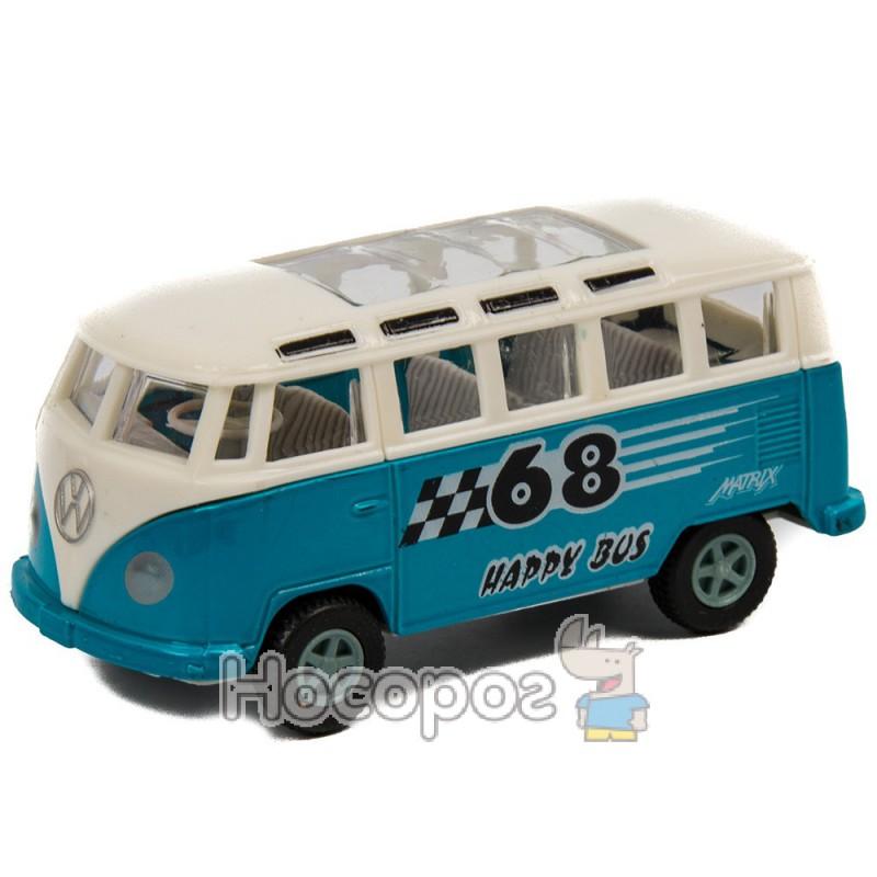 Фото Автобус 8668-012 (інертний, 4 кольори, 12 шт в дисплеї) (216)