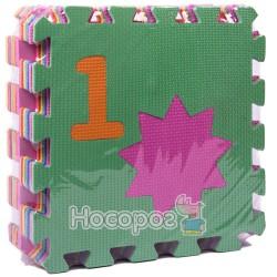 Коврик Мозаїка М 0375 (10 пазлів з цифрами, 30*30 см) (12)