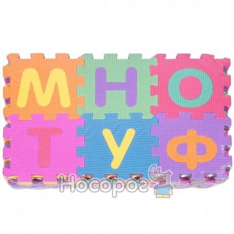 Коврик Мозаїка М 0379 (10 пазлів з укр. алфавітом, 30*30 см) (20)