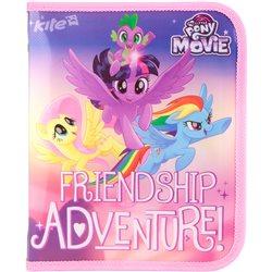 Папка объёмная на молнии Kite My Little Pony, B5