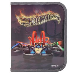 Папка на молнии Kite Hot Wheels B5 HW19-203