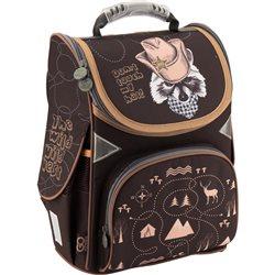 Ранец школьный каркасный GoPack 5001S-12