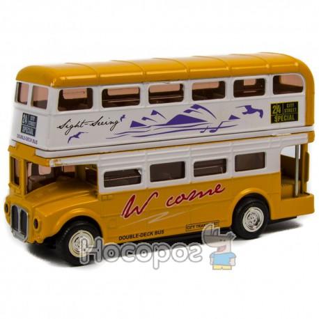 Автобус металевий В 984263 R (музичний, відкриваються двері)