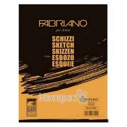 Склейка для ескізів Schizzi Sketch А4 (21х29,7см), 90г/м2, 120л., Fabriano
