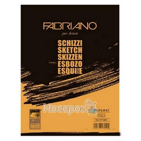 "Склейка для ескізів Fabriano ""Schizzi Sketch "" A4"