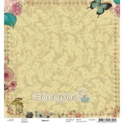 "Бумага для скрапбукинга ROSA Talent ""Nature"" 1"
