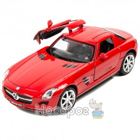 Машина колекційна металева В 946085 R Мерседес (гоночна, відкриваються двері)