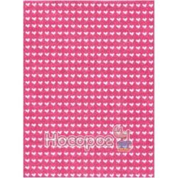 Фетр листовой ROSA Talent сердца на розовом