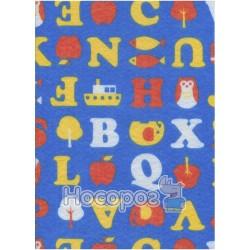 Фетр листовой ROSA Talent буквы на синем