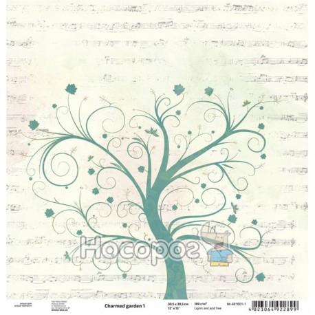 "Фото Бумага для скрапбукинга ROSA Talent ""Charmed garden"" 1"