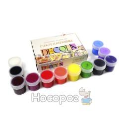 Краски акриловые ЗХК DECOLA для стекла и керамики 4041114