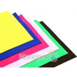 Фетр листковий (поліестер), 21,5х28 см, Фіолетовий темний, 180г/м2, ROSA Talent