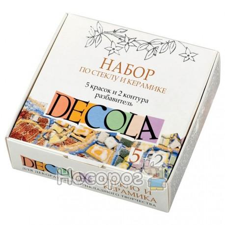 Набор ЗХК DECOLA для стекла и керамики
