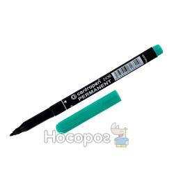 Маркер перманентный Centropen 2536 зеленый