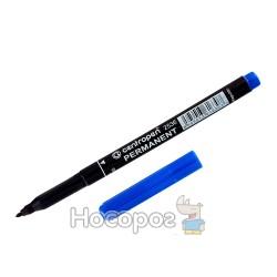 Маркер Centropen 2536 синій перманентний (12/2400)