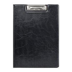Папка-планшет Axent Xepter, A4, с металлическим клипом, черная