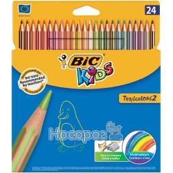 Карандаши БИС TROPICOLORS-2 24 цвета