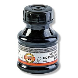 Чернила для авторучек Koh-i-Noor, 50 мл, черные