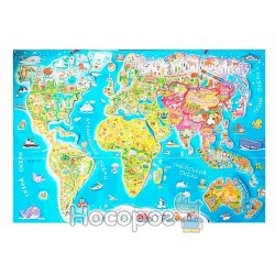 """Дитяча карта світу """"Зірка"""""""