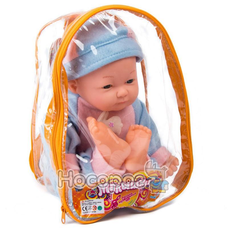 Фото Лялька В 551261 R в рюкзаку (м'якотіла)