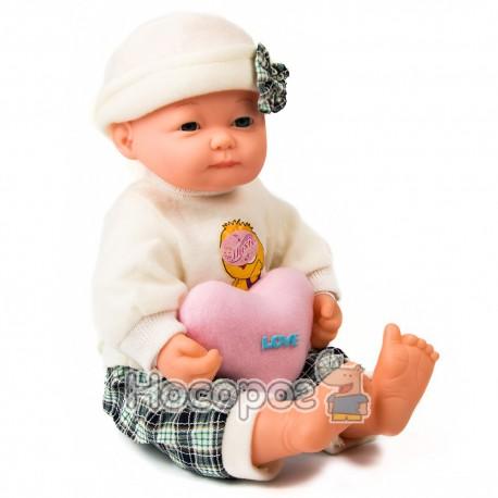 Лялька В 551260 R в рюкзаку (м'якотіла)