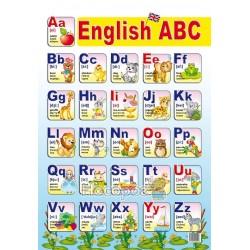 "Плакат Английский алфавит ""Звезда"""