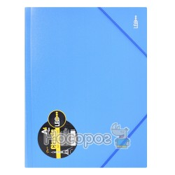 Папка на резинках А4 классик 490524-490527