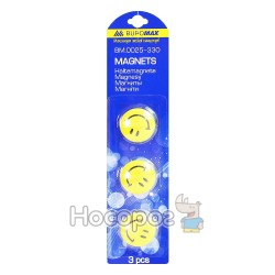 Магниты в комплекте Buromax 0025 / 0026-330 Смайлики