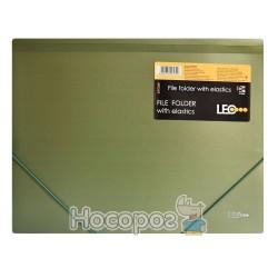 Папка на резинке А4 металлик 490568-490571