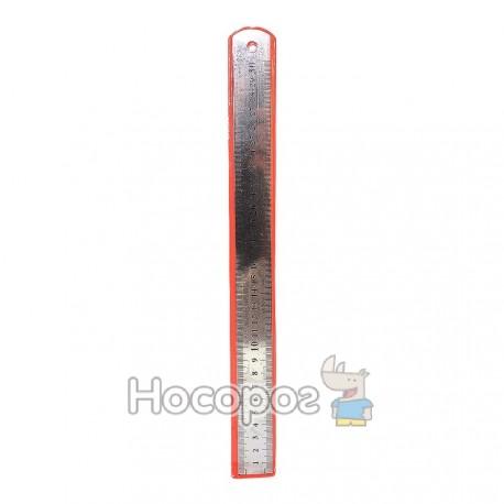 Лінійка металева 30 см 8003 (20шт)
