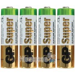 Батарейка пальчик GP Super Alkaline LR6 AA