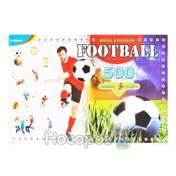 альбом наклейок FOOTBALL 500