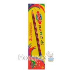 Олівці прості пластик BIKE/ CHENHAO (6/40)