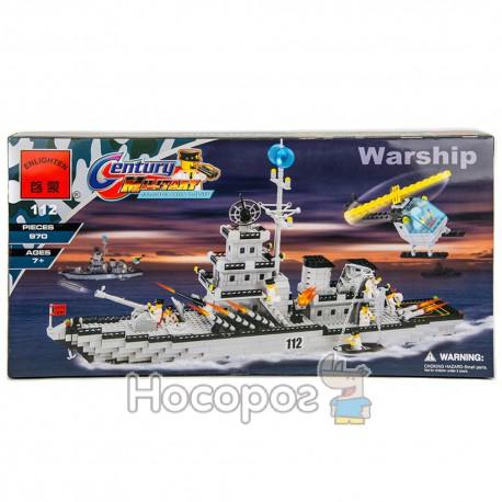 Конструктор детский 112 Корабль