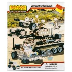 Конструктор 33056 Военная техника (290 деталей, фигурки)